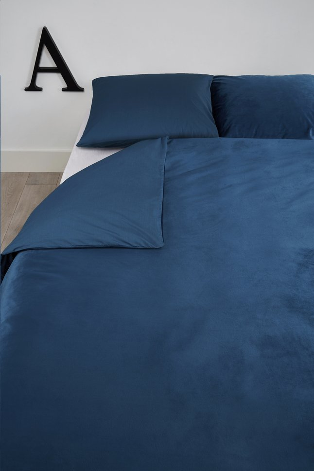 Image pour At Home Housse de couette Tender blue coton/polyester 200 x 220 cm à partir de ColliShop