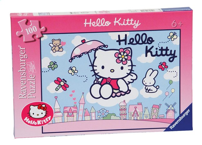 Afbeelding van Ravensburger puzzel Hello Kitty from ColliShop