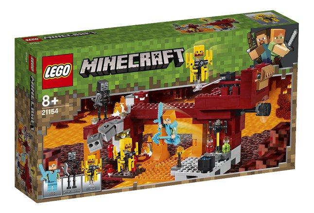 Image pour LEGO Minecraft 21154 Le pont de Blaze à partir de ColliShop