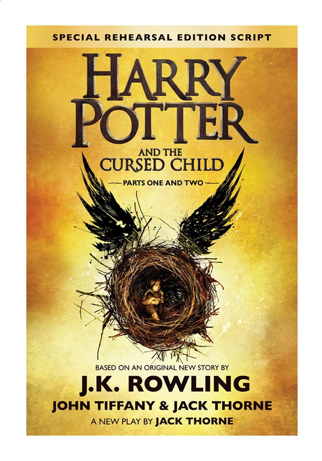 Afbeelding van Boek Harry Potter and the Cursed Child Parts 1 and 2 from ColliShop