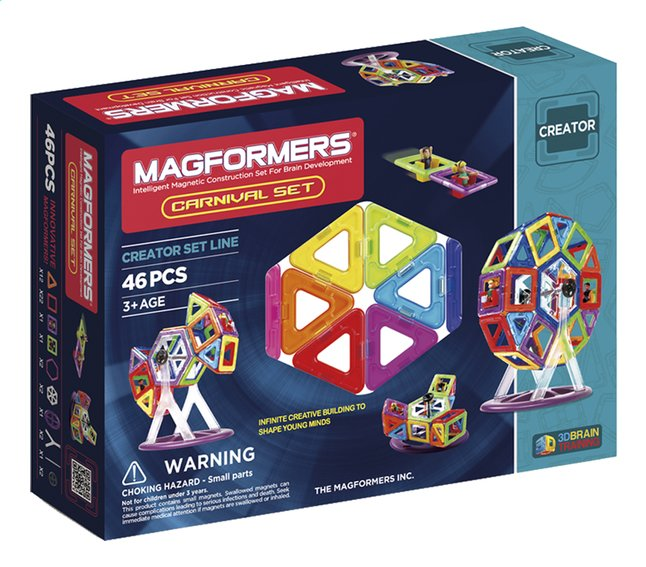 Afbeelding van Magformers Creator Carnival Set from ColliShop