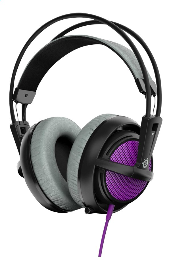 Afbeelding van SteelSeries headset Siberia 200 Sakura Purple from ColliShop