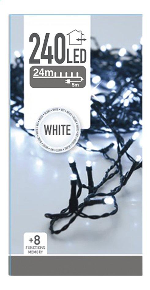 Guirlande lumineuse LED 240 lampes blanc froid