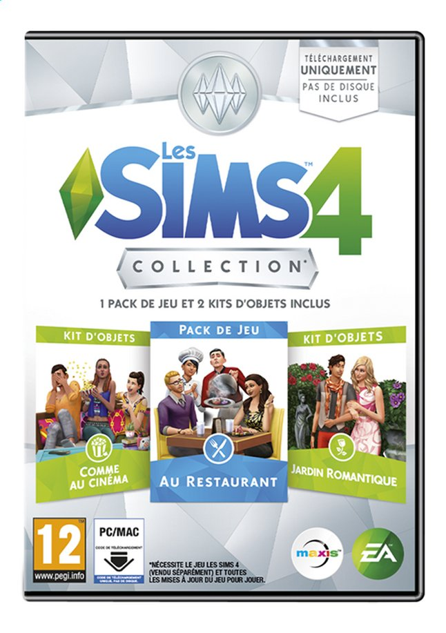 Image pour PC Les Sims 4 Collection FR à partir de ColliShop