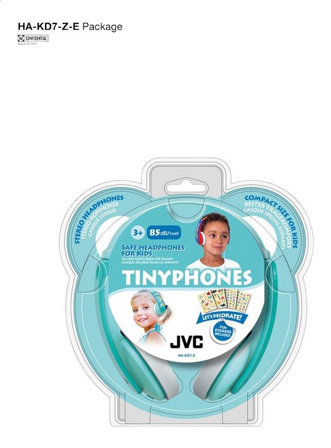 Afbeelding van JVC Hoofdtelefoon Tinyphones HA-KD7-Z blauw groen from ColliShop