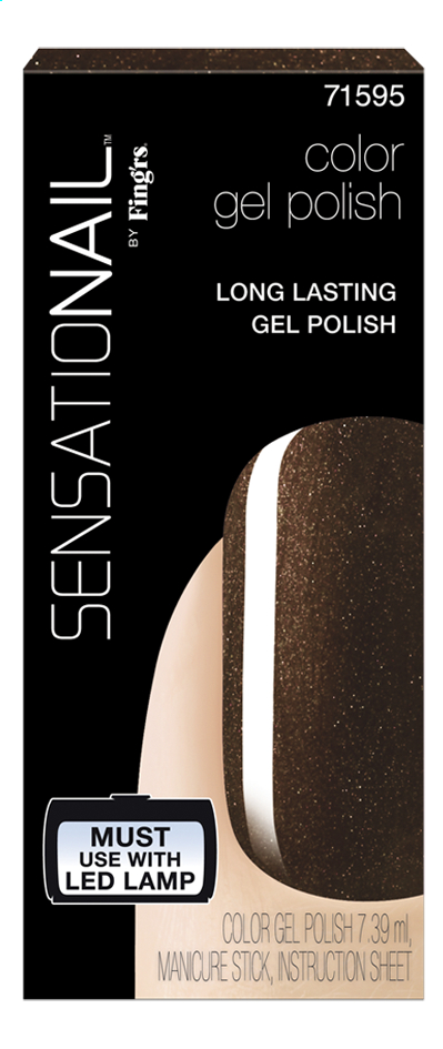 Afbeelding van SensatioNail Gel Polish Espresso Bean from ColliShop