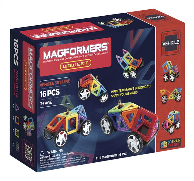 Afbeelding van Magformers Vehicle Wow Set from ColliShop