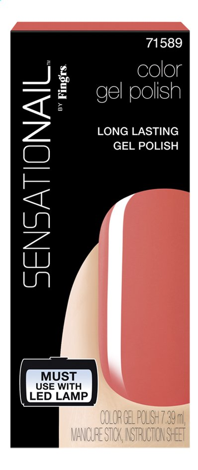 Afbeelding van SensatioNail Gel Polish Coral Sunset from ColliShop