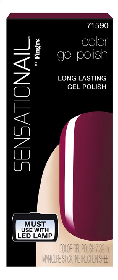 Afbeelding van SensatioNail Gel Polish Sugar Plum from ColliShop