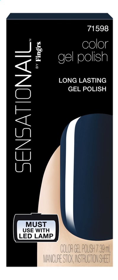 Afbeelding van SensatioNail Gel Polish Blue Yonder from ColliShop
