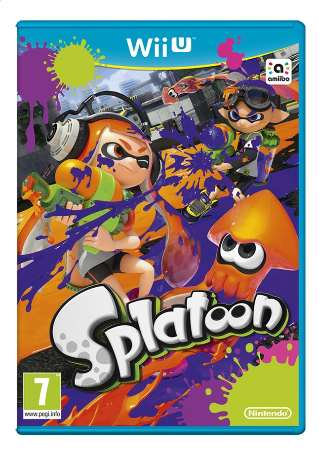 Afbeelding van Wii U Splatoon NL from ColliShop