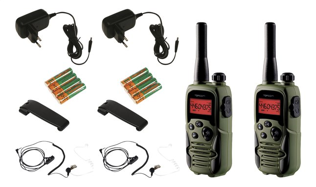 Afbeelding van Topcom Walkietalkie Twintalker 9500 Airsoft Edition from ColliShop