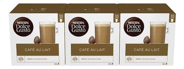Afbeelding van Nescafé Capsules Dolce Gusto XL café au lait - 3 dozen from ColliShop