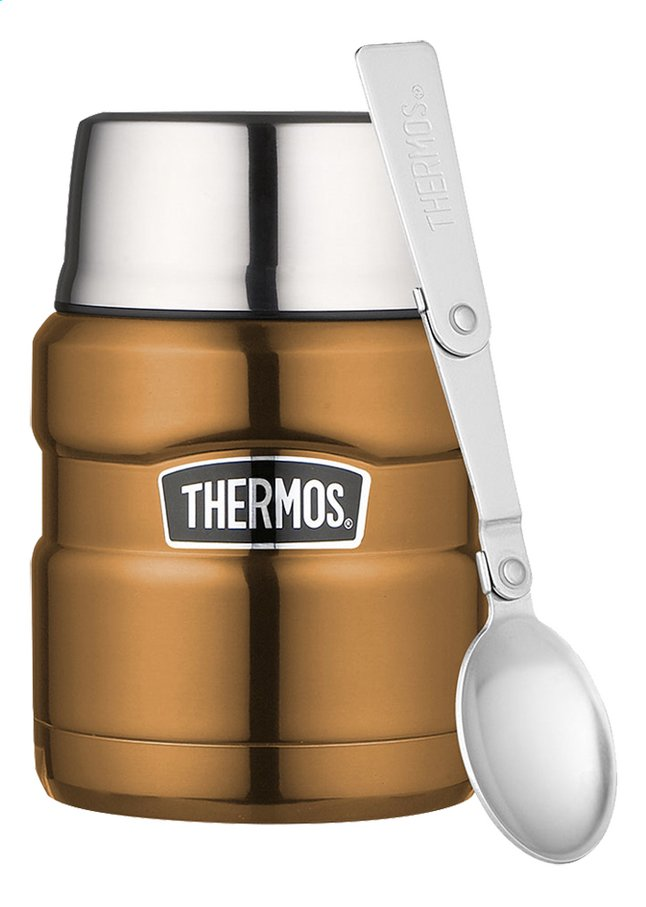 Afbeelding van Thermos Voedseldrager King koper 0,47 l from ColliShop