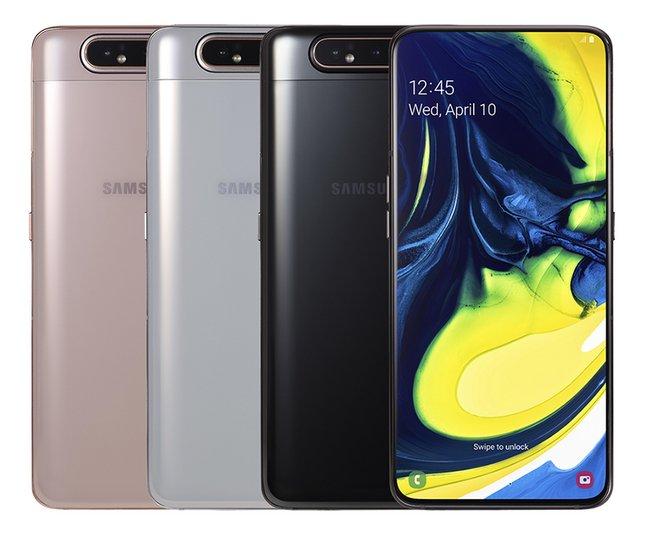 Samsung smartphone Galaxy A80