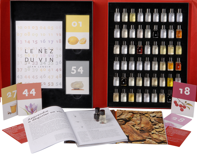 Afbeelding van Box Le Nez du Vin 54 aroma's from ColliShop