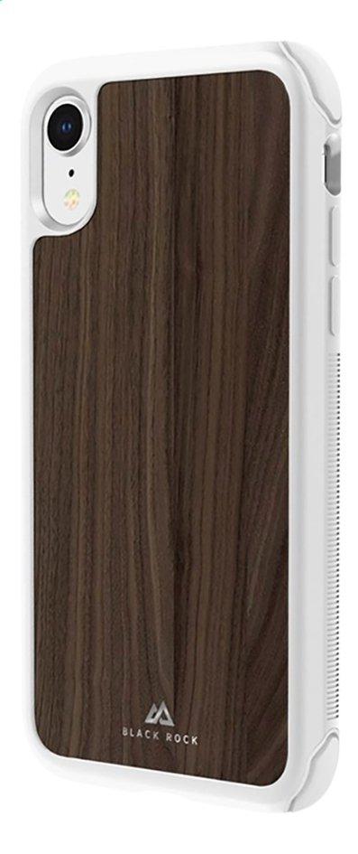 Afbeelding van Cover Black Rock Air Robust walnut voor iPhone Xr from ColliShop