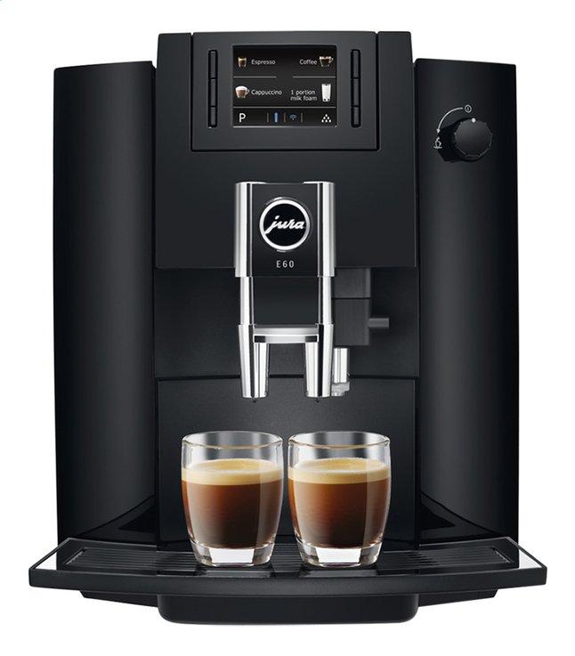 Image pour Jura Machine à espresso entièrement automatique E60 Piano noir à partir de ColliShop