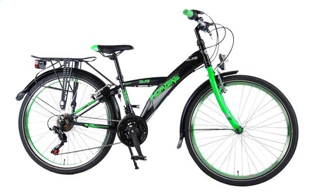 Image pour Volare citybike Thombike City Shimano 21-Speed noir/vert 24