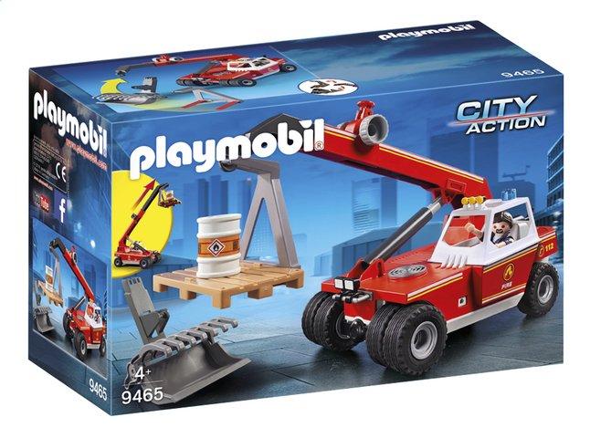 Image pour PLAYMOBIL City Action 9465 Pompier avec véhicule et bras télescopique à partir de ColliShop
