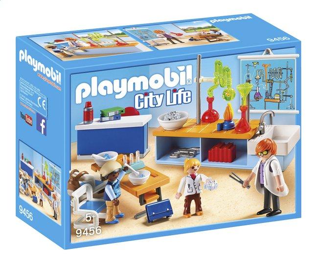 Image pour PLAYMOBIL City Life 9456 Classe de physique chimie à partir de ColliShop