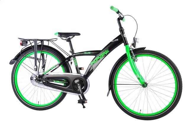 Volare citybike Thombike City zwart/groen 24