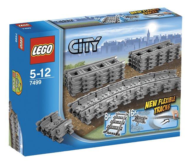 Afbeelding van LEGO City 7499 Flexibele rails from ColliShop