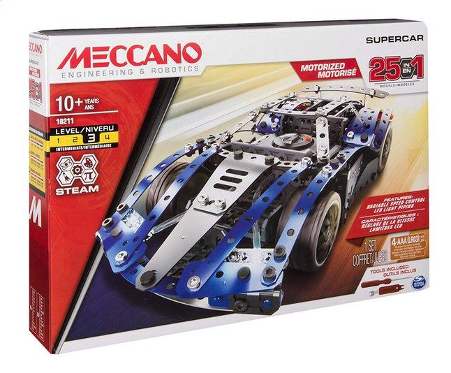 Image pour Meccano Super Car 25 modèles à partir de ColliShop