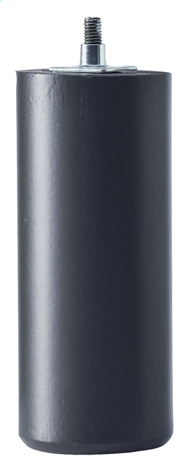 Afbeelding van Set van 4 poten 14 cm zwart voor lattenbodems VitenzA from ColliShop