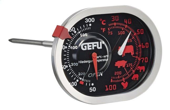 Gefu Braad- en oventhermometer 3-in-1 Messimo inox/inoxlook