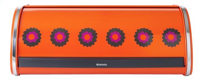 Image pour Brabantia Boîte à pain avec couvercle coulissant Patrice orange à partir de ColliShop