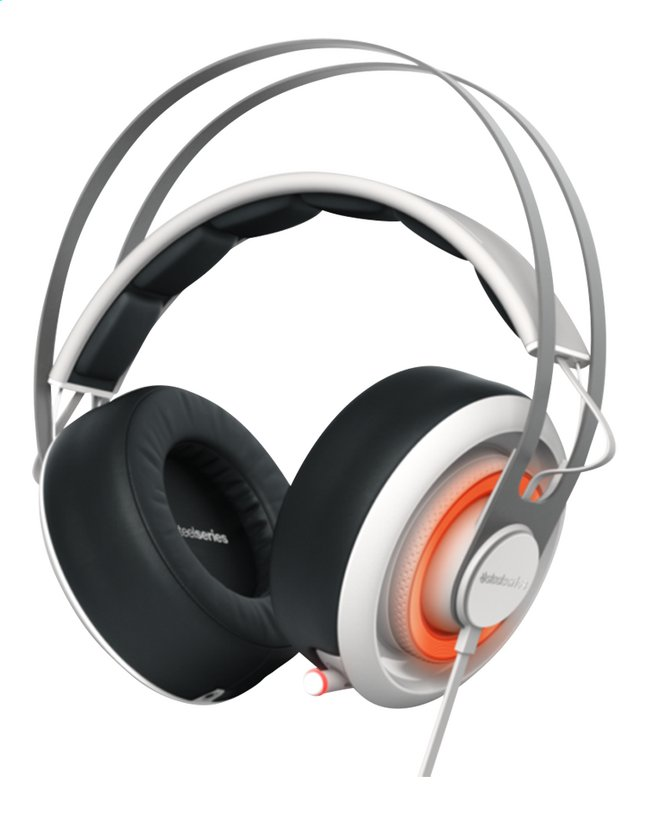 Afbeelding van SteelSeries headset Siberia 650 wit from ColliShop