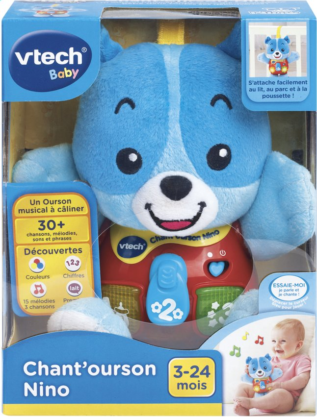 Afbeelding van VTech Chant'ourson Nino FR from ColliShop