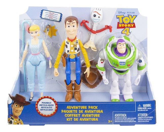 Image pour Figurine articulée Toy Story 4 Coffret aventure à partir de ColliShop