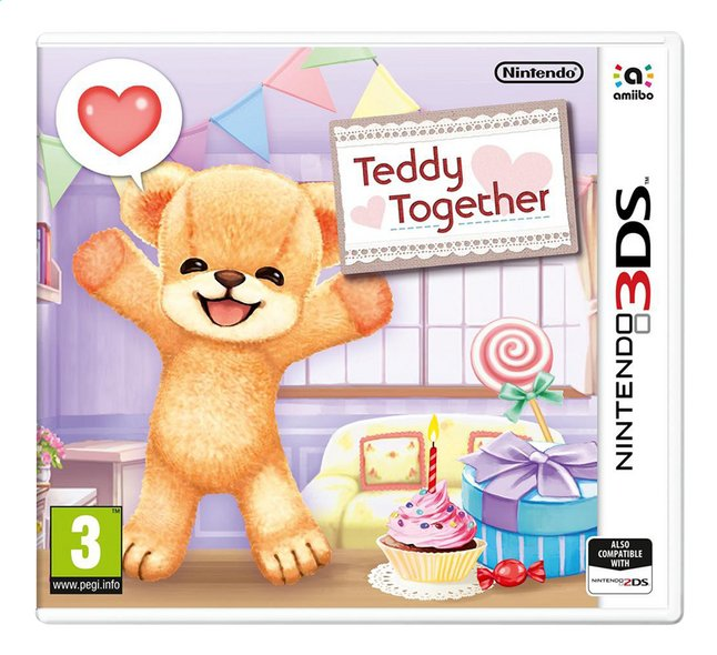 Afbeelding van Nintendo 3DS Teddy Together NL from ColliShop