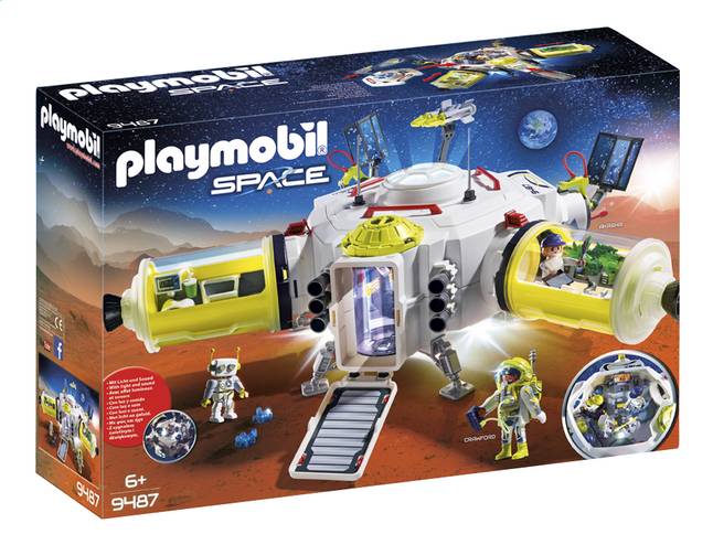 PLAYMOBIL Space 9487 Station spatiale Mars