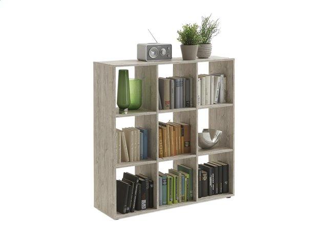 Image pour Bibliothèque Mega 5 décor chêne sable à partir de ColliShop