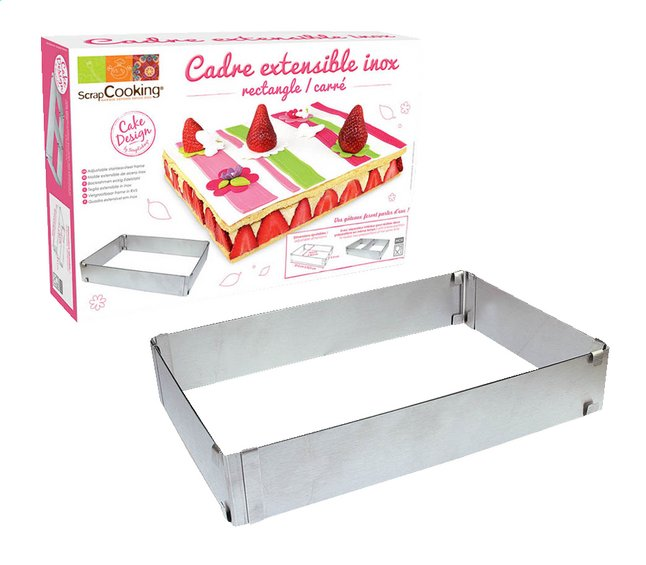 Afbeelding van Scrap Cooking Verstelbare taartrand Cake Design from ColliShop