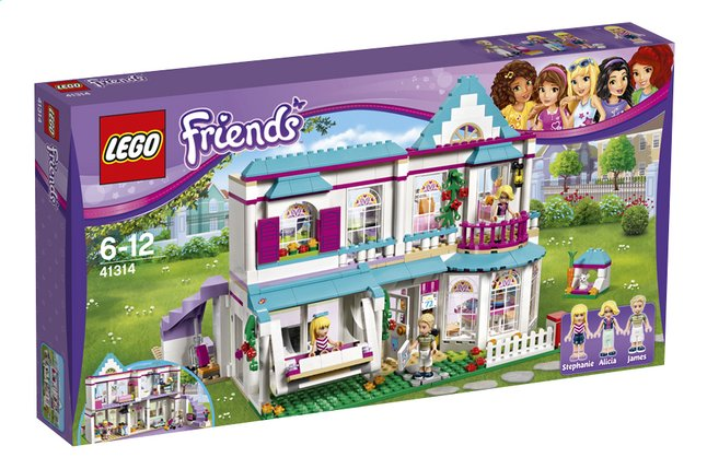 Afbeelding van LEGO Friends 41314 Stephanies huis from ColliShop