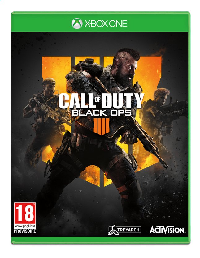 Afbeelding van Xbox One Call of Duty Black Ops 4 ENG/FR from ColliShop