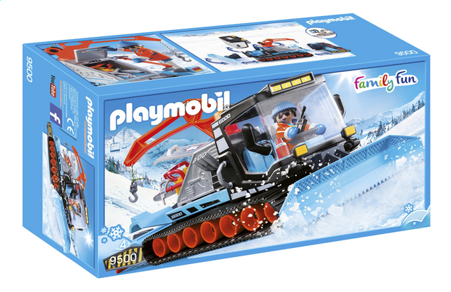 PLAYMOBIL Family Fun 9500 Agent avec chasse-neige