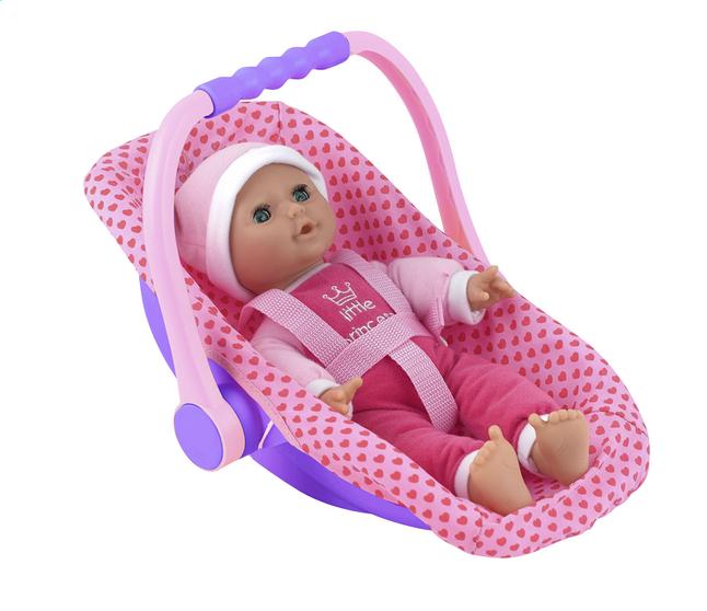 Afbeelding van Dolls World zachte pop Isabella met draagstoeltje from ColliShop