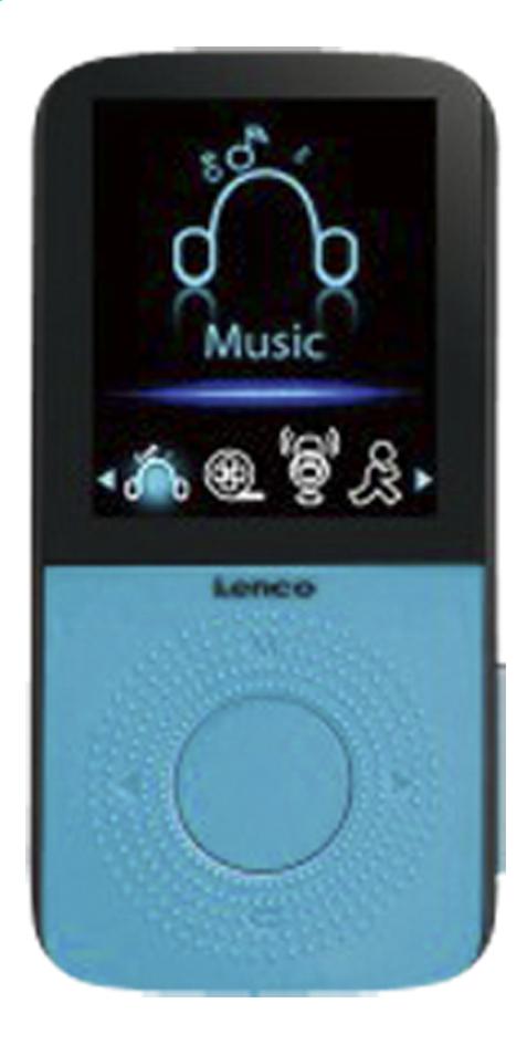 Lenco MP4 audio/vidéo Podo-153 4 Go bleu