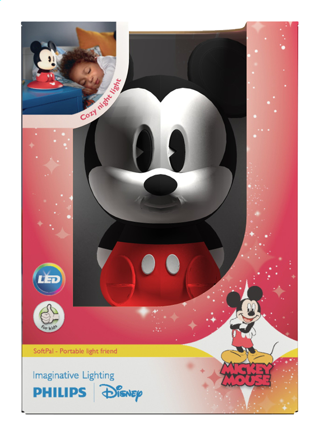 Afbeelding van Philips nachtlampje SoftPal Mickey Mouse from ColliShop