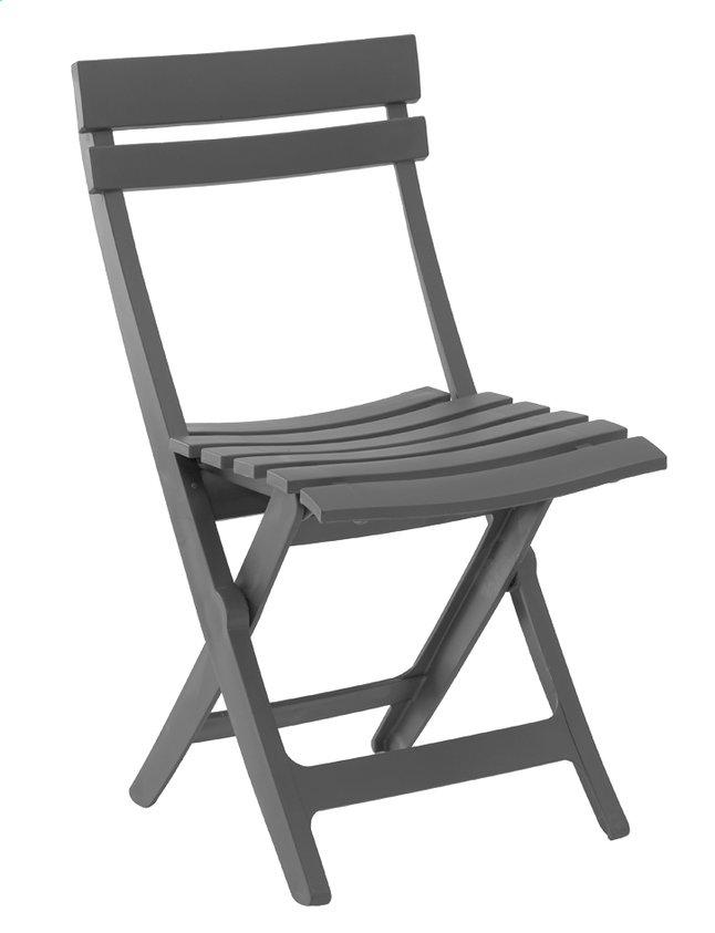 Image pour Grosfillex chaise pliante Miami gris à partir de ColliShop