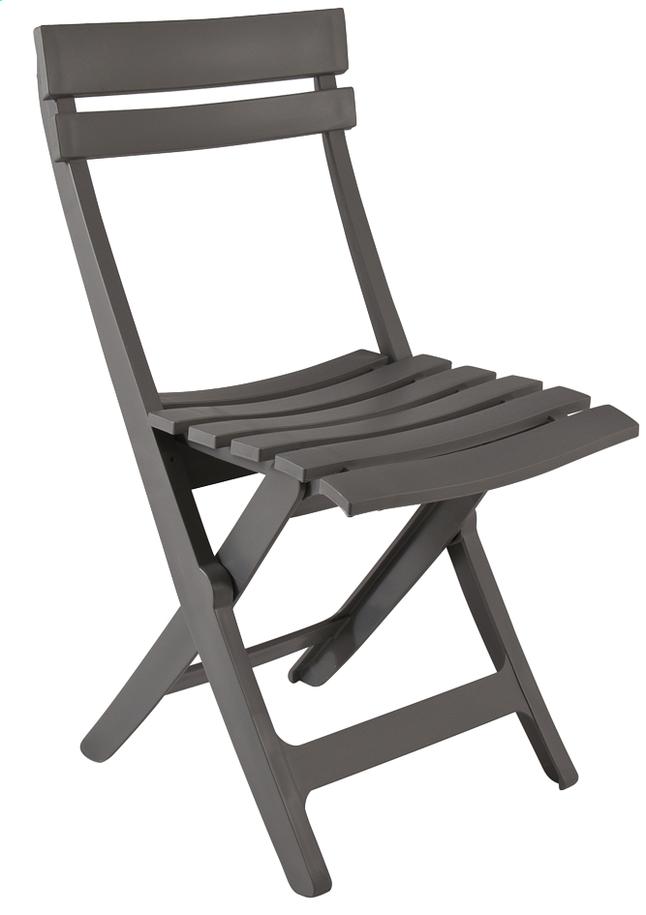 Image pour Grosfillex chaise pliante Miami anthracite à partir de ColliShop