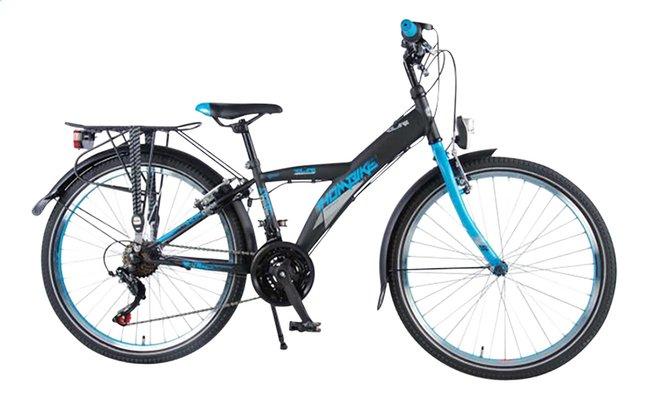 Afbeelding van Volare citybike Thombike City Shimano 21-Speed zwart/blauw 24