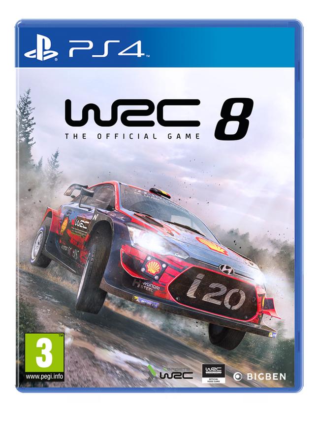 Image pour PS4 WRC 8 FR/ANG à partir de ColliShop