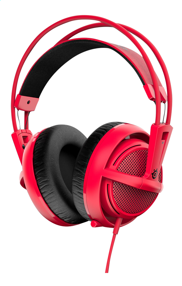 Afbeelding van SteelSeries headset Siberia 200 Forged Red from ColliShop