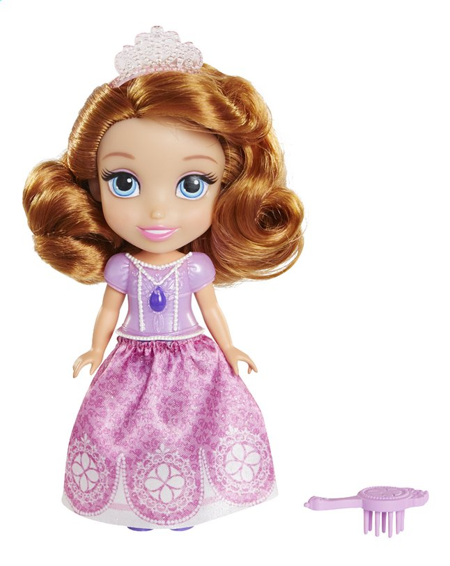 Afbeelding van Figuur Disney Sofia the First roze jurk from ColliShop